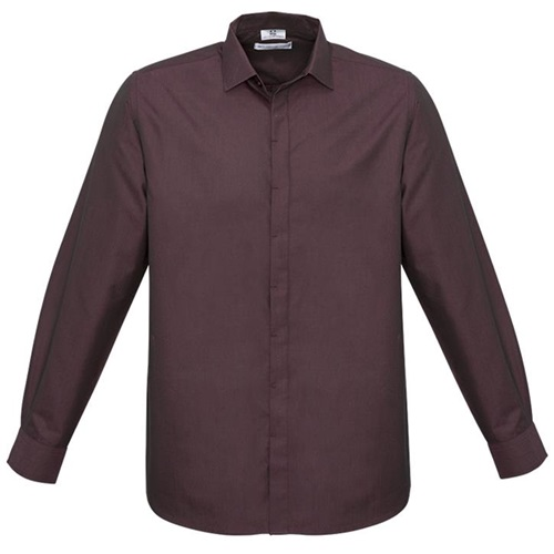 Biz Hemingway Mens Long Sleeve Shirt S504ML 3