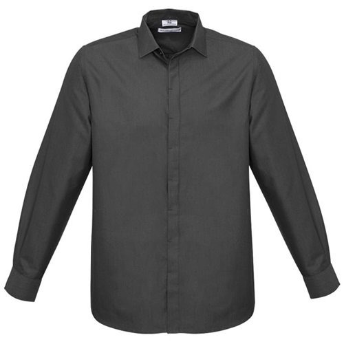Biz Hemingway Mens Long Sleeve Shirt S504ML 2