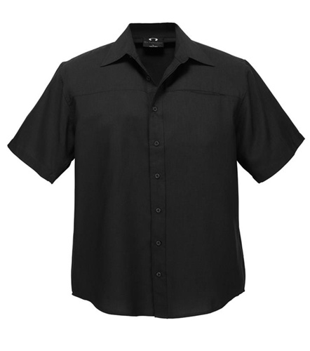 Biz Oasis Mens Short Sleeve Shirt SH3603 8