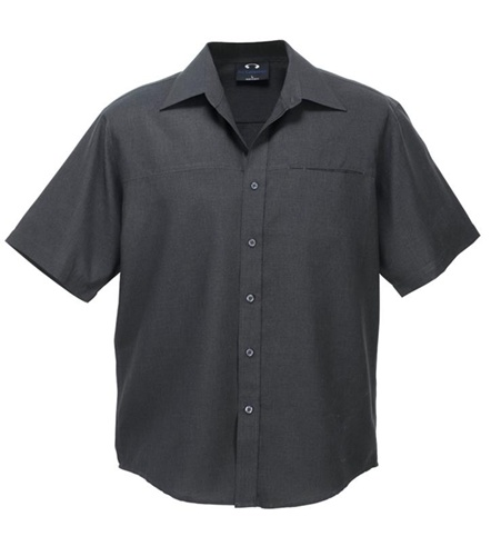 Biz Oasis Mens Short Sleeve Shirt SH3603 9