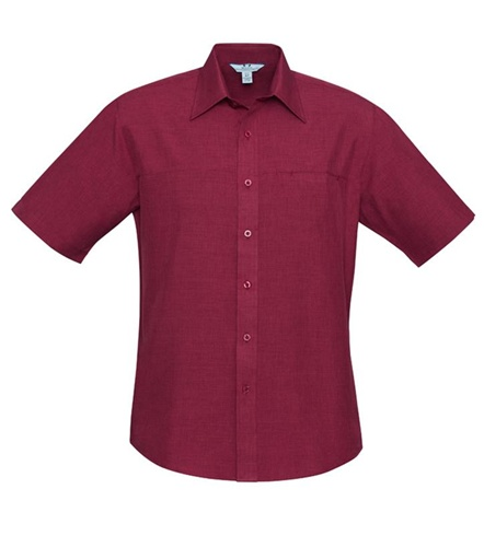 Biz Oasis Mens Short Sleeve Shirt SH3603 3