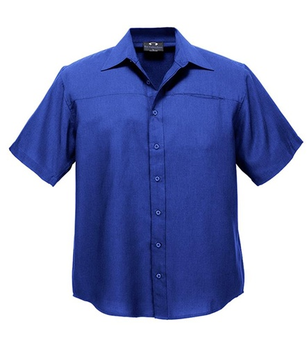 Biz Oasis Mens Short Sleeve Shirt SH3603 7