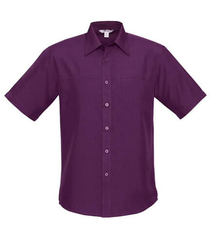 Biz Oasis Mens Short Sleeve Shirt SH3603 2