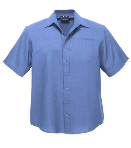 Biz Oasis Mens Short Sleeve Shirt SH3603 5