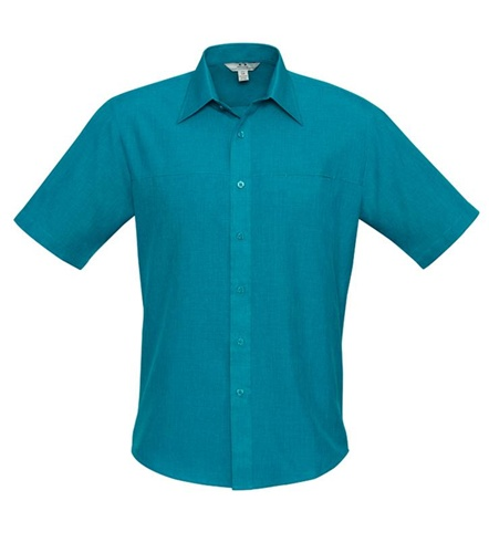 Biz Oasis Mens Short Sleeve Shirt SH3603 6