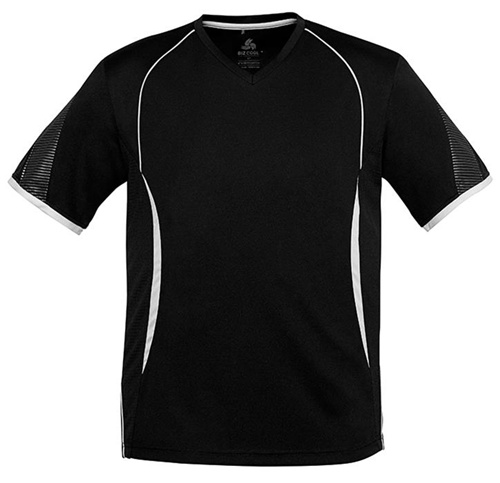 Biz Razor Mens V-Neck Tee T406MS 8