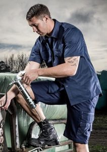 SYZ Tradie Short Sleeve Shirt ZW120