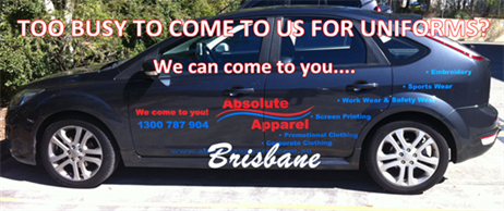 Brisbane clients of absolute apparel