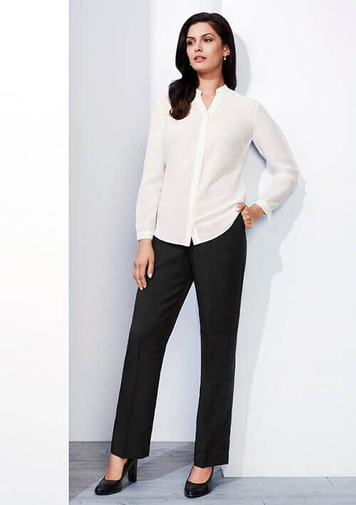 BC Ladies Cool Stretch Plain Easy Fit Pants 10113
