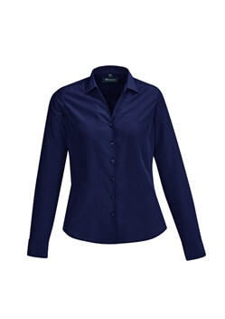 BC Solanda Ladies Plain Long Sleeve Shirt 40410
