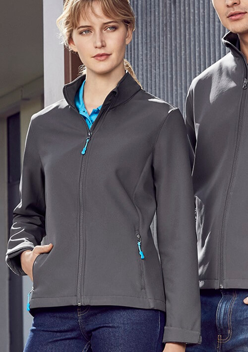 Biz Apex Ladies Softshell Jacket J740L