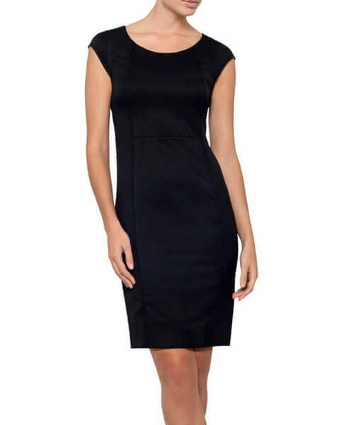 Bracks Womens Plain Twill Corporate Dress DRESSW124