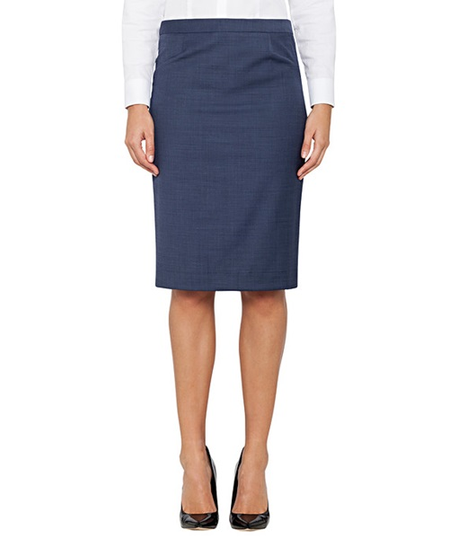 Van Heusen Ladies Wool Mix Modern Classic Fit Skirt VCSW930