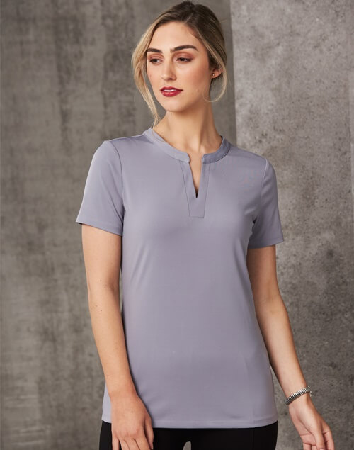 Grey womens vneck shirt