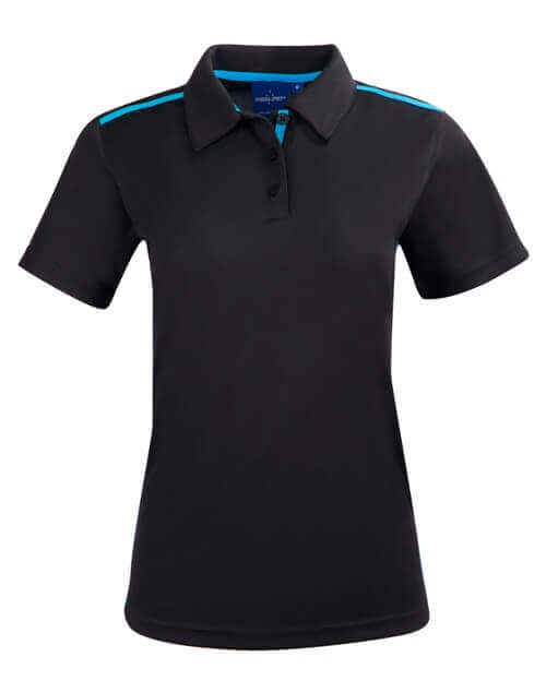 WS Staten RapidCool Ladies Short Sleeve Contrast Polo PS84