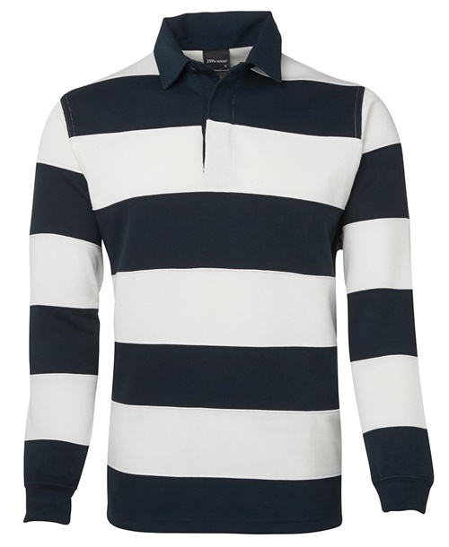 JBs Striped Unisex Rugby Shirt 3SR