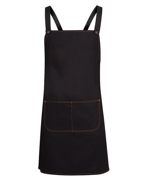 JBs Cross Back Long Denim Apron 5ACBD