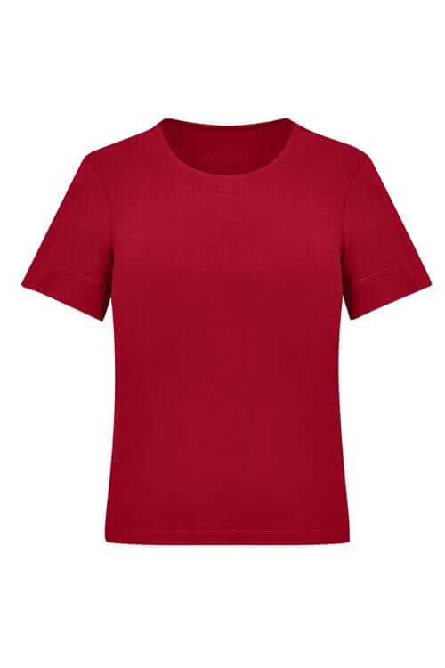 Biz Care Womens Soft Jersey T-Top CS952LS