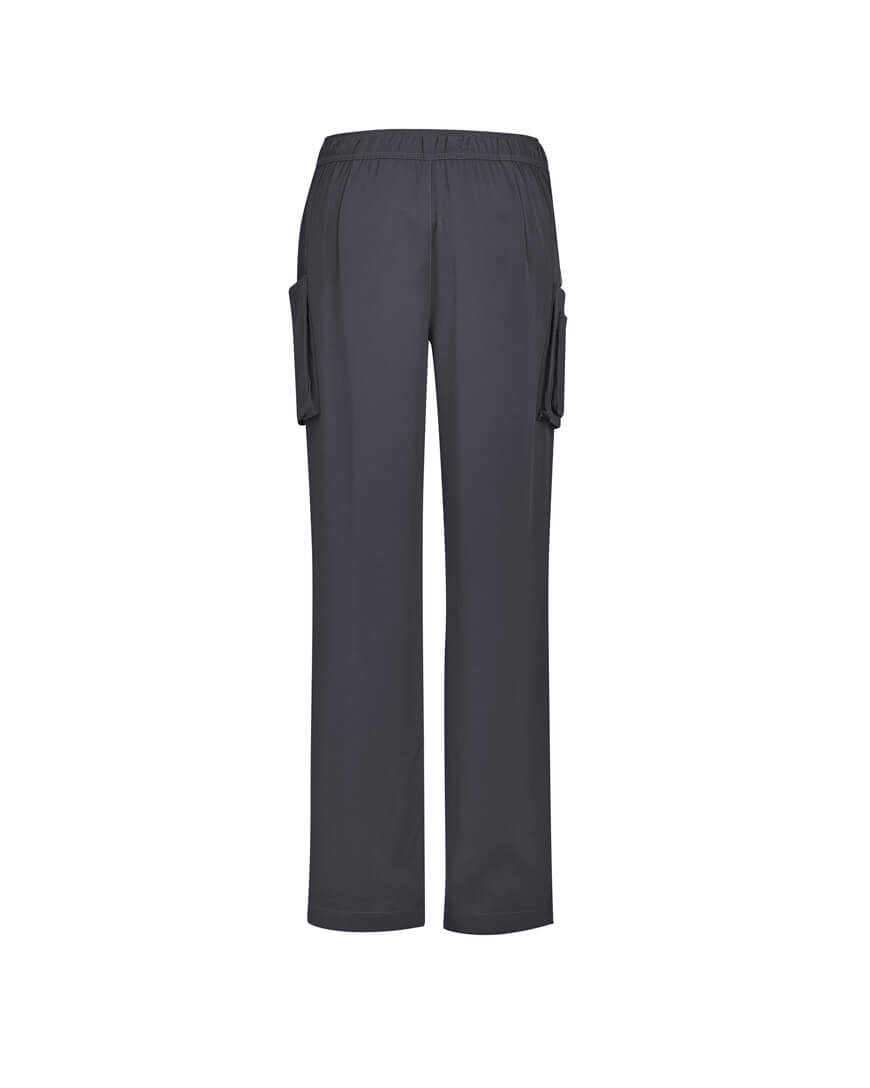 Biz Care Womens Avery Multi-Pocket Straight Leg Pant CSP944LL