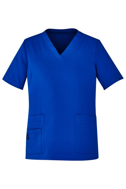 Biz Care Womens Easy Fit V-Neck Scrub Top CST941LS