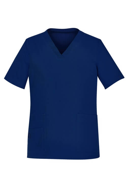 Biz Care Scrub Set – Womens Avery Easy Fit V-Neck Scrub Top CST941LS & Multi-Pocket Straight Leg Pant CSP944LL