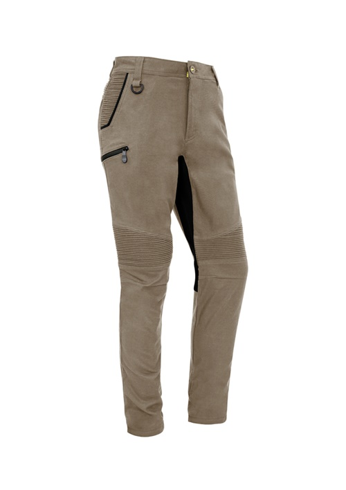 SYZ Mens Streetworx Stretch Pants Non-Cuffed ZP320