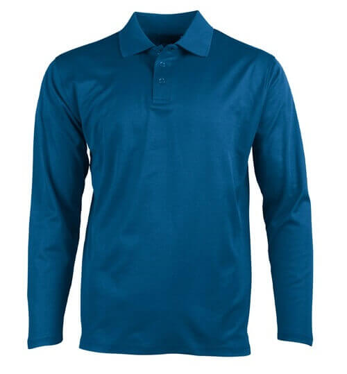 WS Victory Plus TrueDry Unisex Long Sleeve Polo PS35