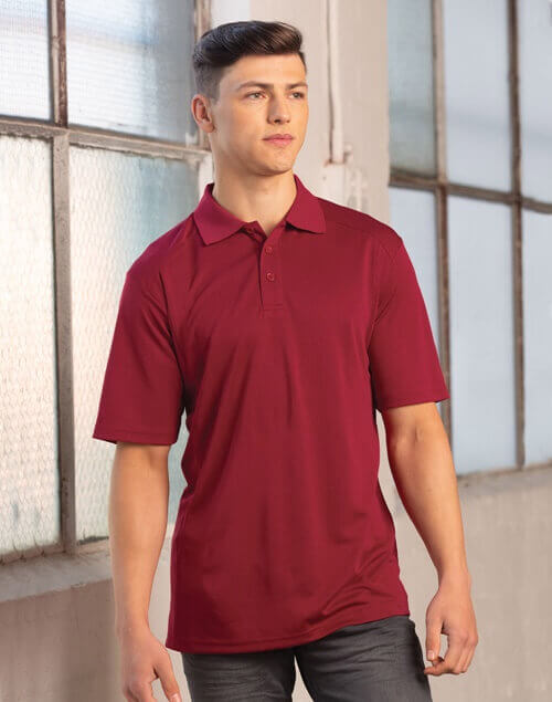 WS Lucky Bamboo Mens Short Sleeve Polo PS59