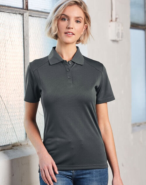WS Lucky Bamboo Ladies Short Sleeve Polo PS60