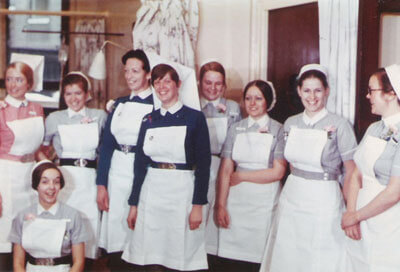 1970s nurse uniforms