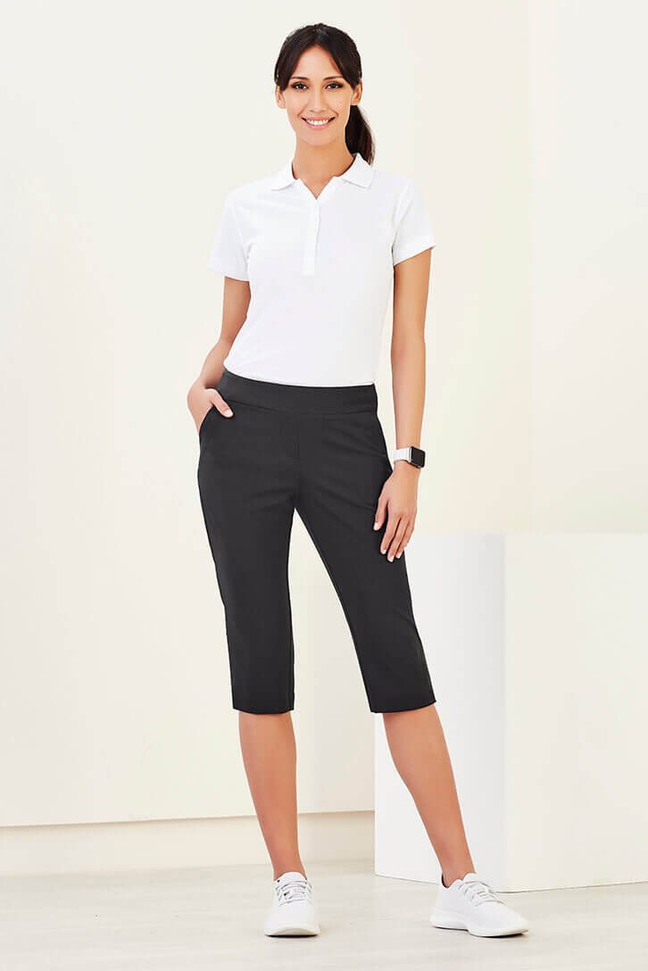 Biz Care Womens Jane 3/4 Length Stretch Pant CL040LL