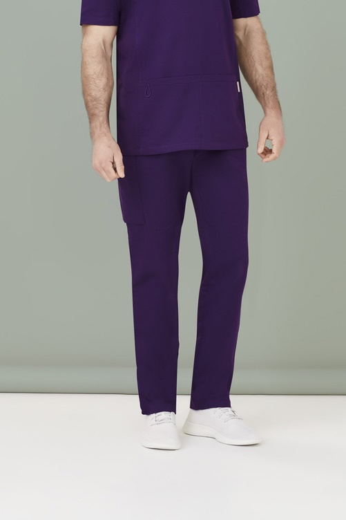 Biz Care Mens Riley Straight Scrub Pant CSP047ML