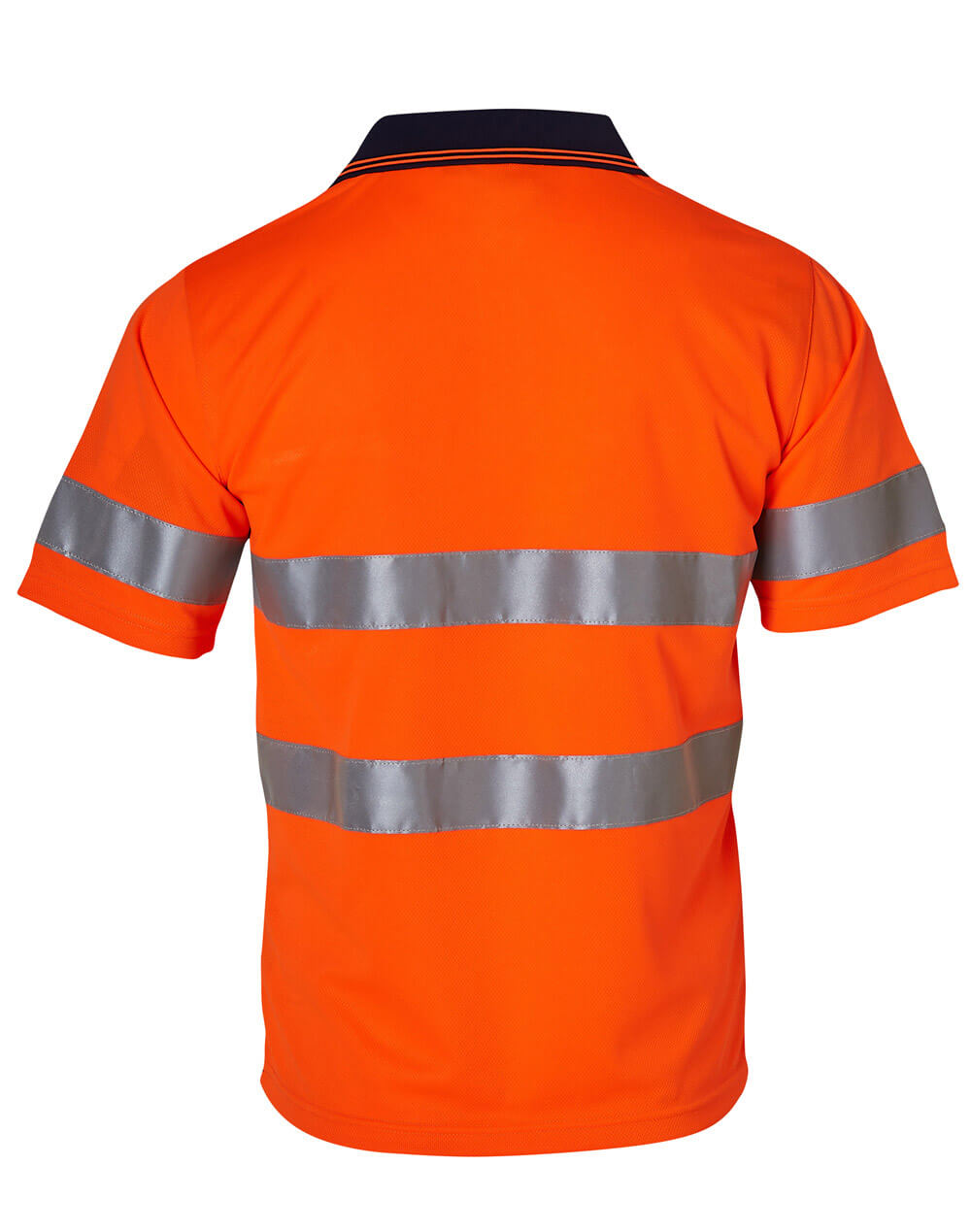 WS High Vis Short Sleeve Safety Polo with 3M Tapes SW17A