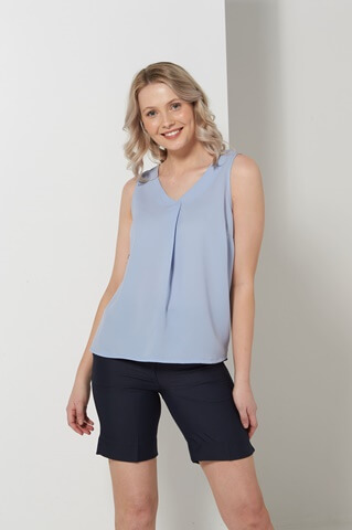 Sky Sleeveless Shirt